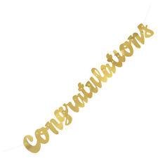 Stafford Silver Congratulations Giant Banner Bridal Shower Wedding Decoration