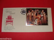 Queen Elizabeth II Silver Jubilee Coronation FDC Stamp Pitcairn Islands 1978