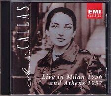 Maria CALLAS LIVE IN MILAN 1956 & Athens 1957 Spontini Wagner Simonetto Votto