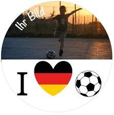 Fußball WM Tortenaufleger Foto Torte Tortenbild Fototorte Zuckerbild Geburtstag
