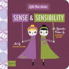 Sense & Sensibility: A Babylit(r) Opposites Primer (Board Book)