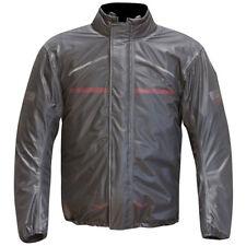 Merlin Reissa Pack Bag Motorcycle Bike Waterproof Rainwear Over Jacket - Grey