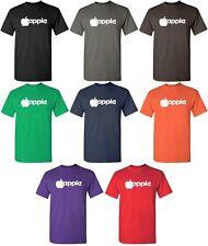 APPLE T-shirt Computer II MAC GEEK Shirt Retro 80s TEE