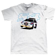Delta S4 clásico grupo B Rally Coche camiseta, Regalo Para Papá Cumpleaños