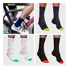 Pro Mens Womens Cycling Ankle Socks Plain Anti-Sweat Breathable Sports Socks