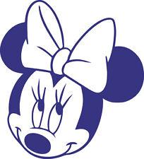 Finestra di visualizzazione del veicolo muro Minnie Mouse Contour Cut Decalcomania Adesivo Vinile