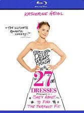 27 Dresses [Blu-ray], New Disc, Katherine Heigl, James Marsden, Malin Akerman, B