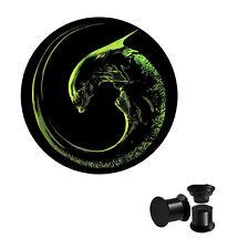 Alien Xenomorph Screw Ear Plug Jewellery Sold Individually 5mm,6mm,8mm,10mm,12mm