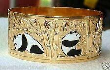 28MM 14K YELLOW GOLD HAWAIIAN CUSTOM HAND ENGRAVED PERSONALIZED BANGLE 6.5-9.0