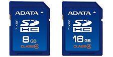 8/16GB Original ADATA SD Card Class4 SDHC Memoria Camera GPS Tablet