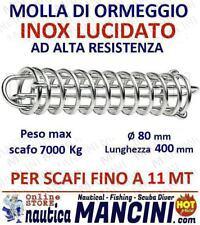 MOLLA PER ORMEGGIO ACCIAIO INOX + MOLLE OFFERTA 2PZ barca barche SCAFI FINO 11MT