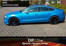 KandyDip® Sprühfolie SAZUKA BLUE PEARL 2K Auto SET Autofolie Felgen Folie DIP