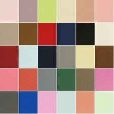 100% algodón canvas fabric Material de peso medio de 230gsm de 112 Cm de Ancho