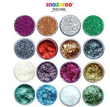 Professional Snazaroo Glitter Gel + Glitter Polvere 12ml make up costume Vernice