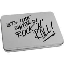 'Rock & Roll' Blechdose / Aufbewahrungsbox (vTT0014790)