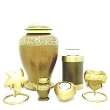 Copper Marble Cremation Urn, Keepsake, Star, Heart &Tea light Urn, Engravable