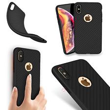 Carbon Matt Back Case Ultra Slim Tasche Hülle Schutz Cover Schale Etui ver Handy