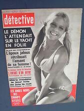 Détective 1971 1313 NICE LA COLLE D'ABADIE  LILLE SAINT PRIEST BLANC MESNIL