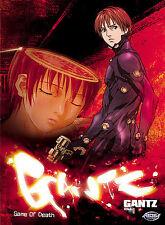 Gantz Vol. 1 - Game of Death - ADV Films - Gonzo Production  DVD DGZ/001 MA 2005