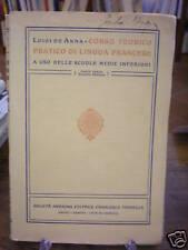 (MANUALI - FRANCESE) CORSO DI LINGUA FRANCESE