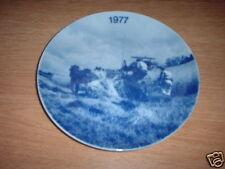 WANDTELLER LANDMANDSPLATTER 1977 , DÄNEMARK #1064