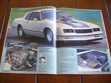 1984 CHEVROLET MONTE CARLO SS PRO STREET *ORIG, ARTICLE