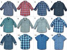 Nuevo con Etiqueta Hollister By Abercrombie&fitch Camisa de Cuadros Vaqueros