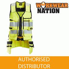Snickers 4260 Protecwork, Flame Retardant Hi-Vis Tool Vest, Class 1 - Yellow