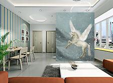 3D Flying Horse 0103 WallPaper Murals Wall Print Decal Wall Deco AJ WALLPAPER