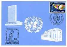 Maximumkarte Vereinte Nationen Genf Nr 78 Hamburg 1978 MK_014