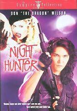 "Don ""the Dragon"" Wilson, Night Hunter, vampire movie with Melanie Smith"