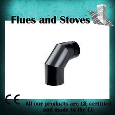 """Stove Pipe Elbows SLIGHT SECONDS 30 deg 45 deg 90 degree  4"""" 5"""" 6 inch"""