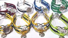 Infinity Live Your Dream Bracelet w Baseball/ Softball charm