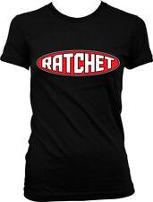 Ratchet Skanky Slutty Ho Whore Tramp Bitch Juniors T-shirt