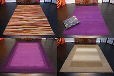 Designer Natur Kelim Teppich Handarbeit Schurwolle fein verschiedene Größe