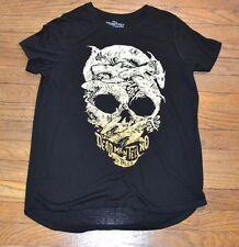 Pirates of the Caribbean Shark Skull Graphic Tee Juniors T-Shirt Licensed Disney
