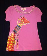 LOLA ET MOI - PROMO -70% - T-shirt Everyday Sunshine rose - Neuf étiquette
