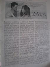 Newspaper version short story Zala by Countess Cromartie 1908