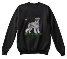 Miniature Schnauzers Dog Cat Christmast - Life Hanes Unisex Crewneck Sweatshirt