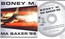 BONEY M Ma Baker '99 EUROPEAN CD single