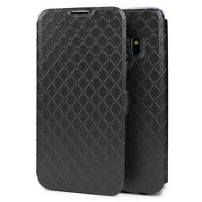 Handy Schale für Samsung Galaxy S9 Kunstleder Case Cover Schutz Hülle Flip Etui