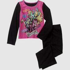 Monster High Girls Sleepwear New 6-6X 7-8 M 10-12 L 14-16 XL Flannel pajamas