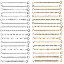 Extension rallonge rajout pour Chaine Collier ou Bracelet Taille au Choix