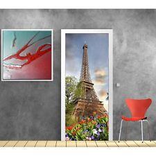 Stickers porte déco Paris Tour Eiffel 733