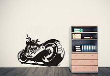 Chopper Motocicletta Muro ARTE Adesivo, Decalcomania. un sorprendente design arredamento casa