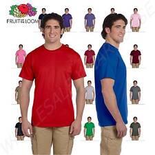 NEW Fruit of the Loom Men's 5 oz 100% Heavy Cotton HD S-3XL T-Shirt 3931
