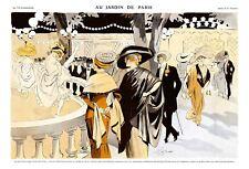 French Pinups: La Vie Parisienne - Garden Of Paris - Prejelan - 1910