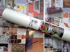 DC FIX 200-8041 Gloss White Contact Shelf Covering 67.5cm x 1m German Made