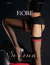 2 Colours Available FIORE Jovitta Luxury Super Fine 20 Denier Sheer Stockings