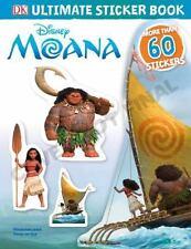 Ultimate Sticker Book: Disney Moana (Ultimate Sticker Books) by DK, Good Book